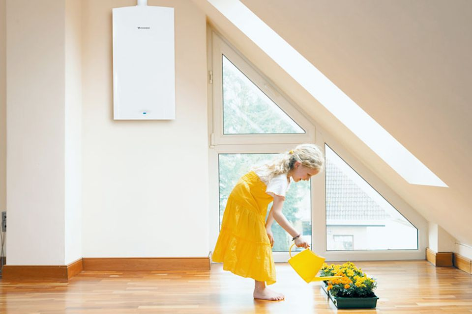 Mit Brennwerttechnik Energie sparen