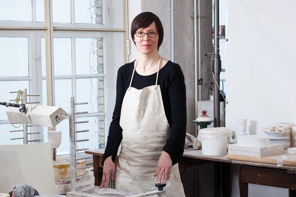 Porzellan-Designerin Barbara Schmidt