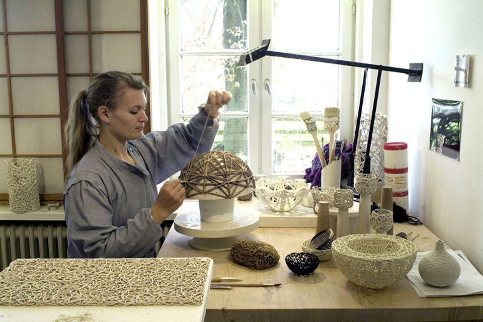 Porzellan-Designerinnen