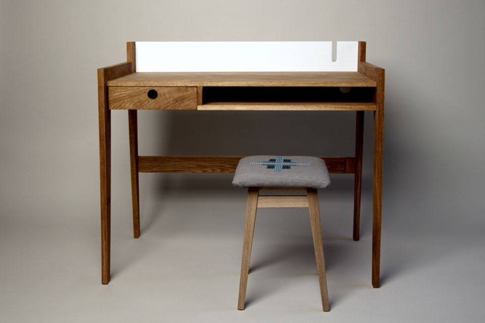 Heimisches Eichenholz eignet sich hervorragend für hochwertige Möbel.