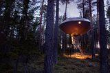 "Ufo-Zimmer in Schwedens ""Treehotel"""