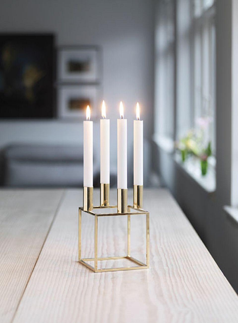 "Kerzenhalter ""Kubus 4"" von by Lassen"