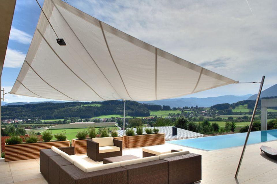 Sonnensegel für Terrasse und Balkon