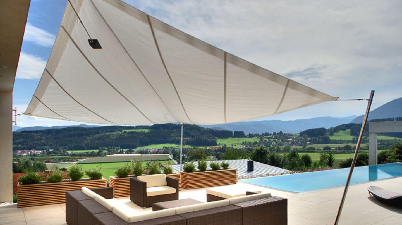 Sonnensegel für Terrasse & Balkon   [SCHÖNER WOHNEN]