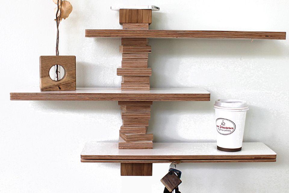 Möbel aus Holzverschnitt bei Andreas Janson