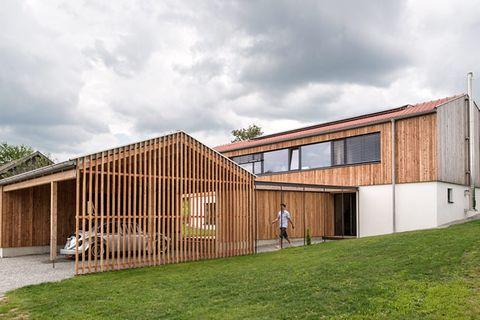 1. Preis: Satteldachhaus mit natürlichem Raumklima
