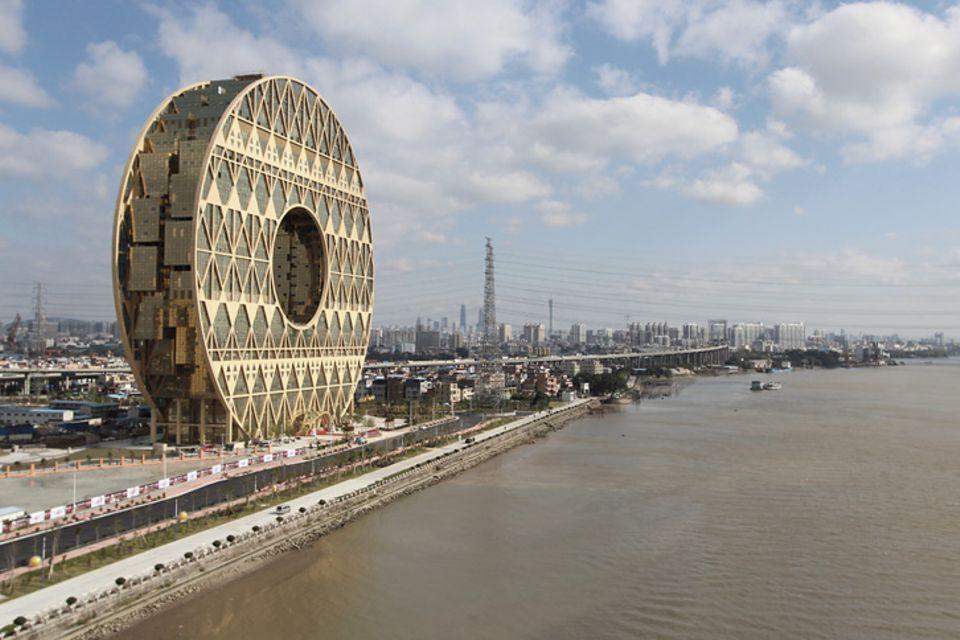 Guangzhou Circle: Schöner arbeiten im Riesenrad