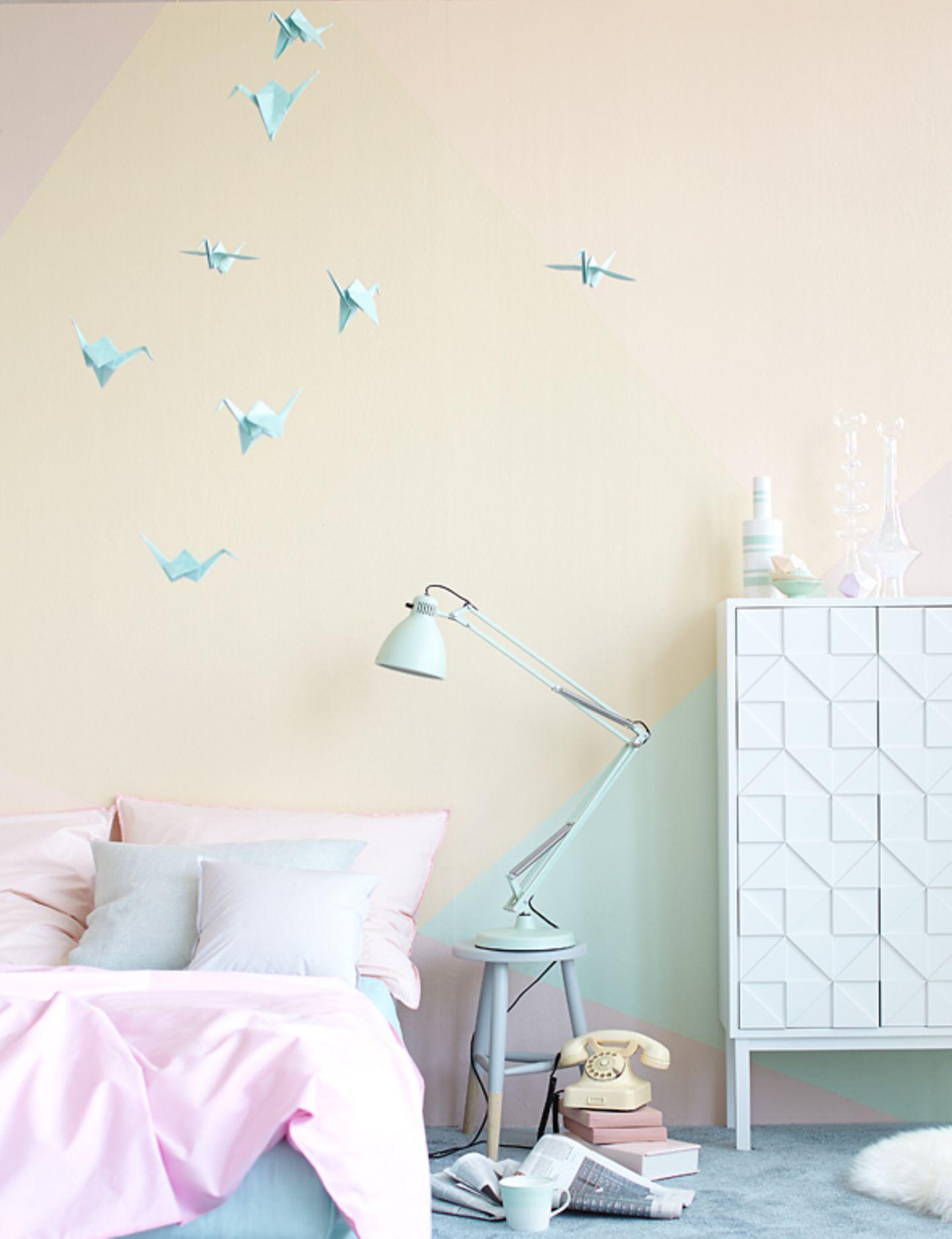 Wand in mehreren Farben gestalten - Bild 9