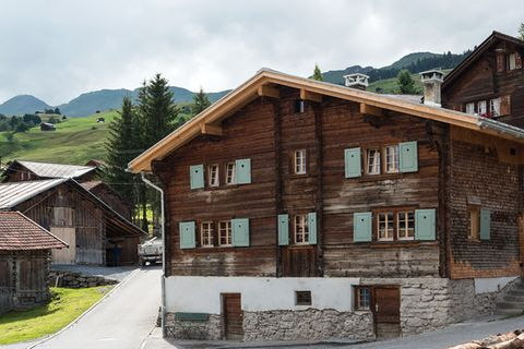 Umbau eines Blockhauses