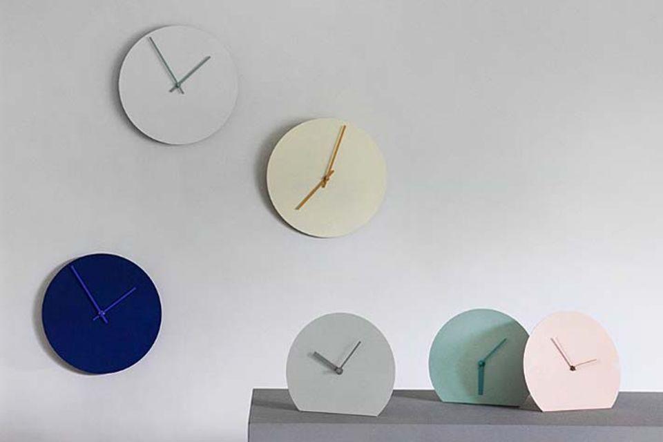 """Wanduhr """"Steel Clock"""" von Menu"""