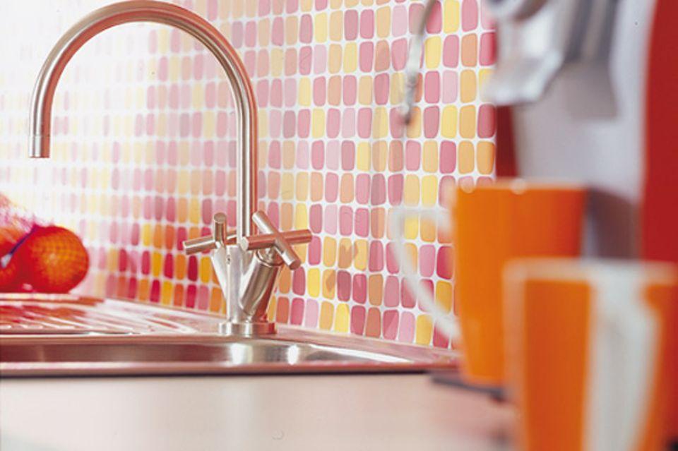 Wohnen mit Farben: Sommerfarben für die Küche