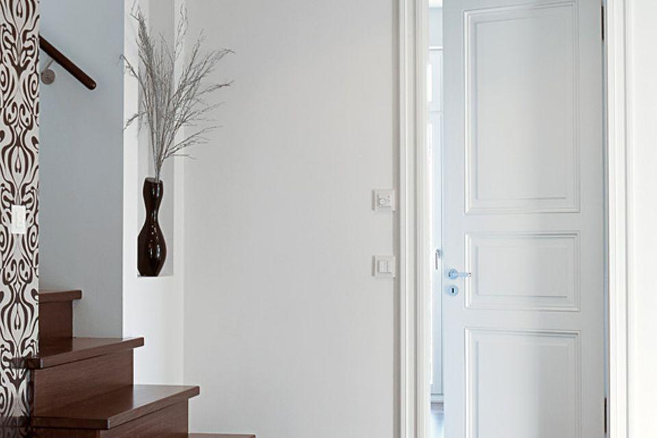 Türen aus Holz, Glas und Metall