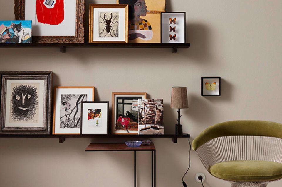 Wandgestaltung mit Bildern – hilfreiche und schöne Ideen