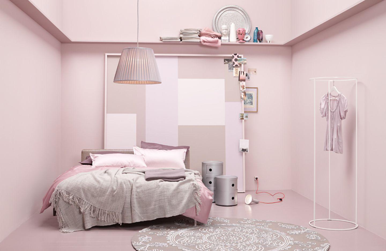 Schlafzimmer in Altrosa - Bild 13
