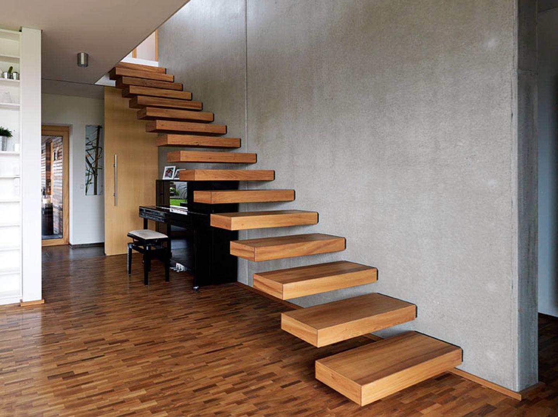 Optisch ganz leicht: Kragarmtreppe - Bild 12