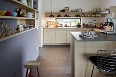 Praktischer Tresen in der Küche