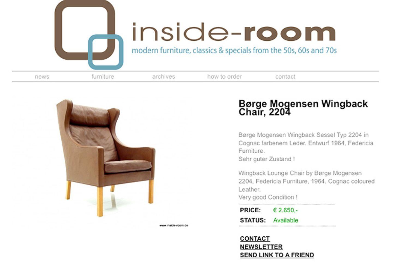 """""""Inside Room"""": Möbel der 50er, 60er und 70er"""