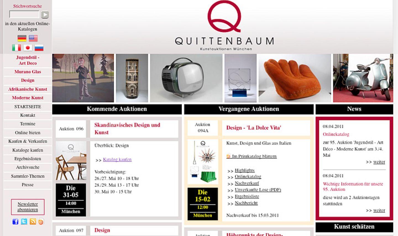 """""""Quittenbaum"""": Auktionshaus mit Schwerpunkt Kunst und Design"""