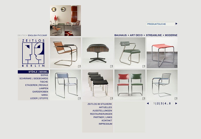 """""""Zeitlos"""": Möbel von Art Déco bis Pop Art"""