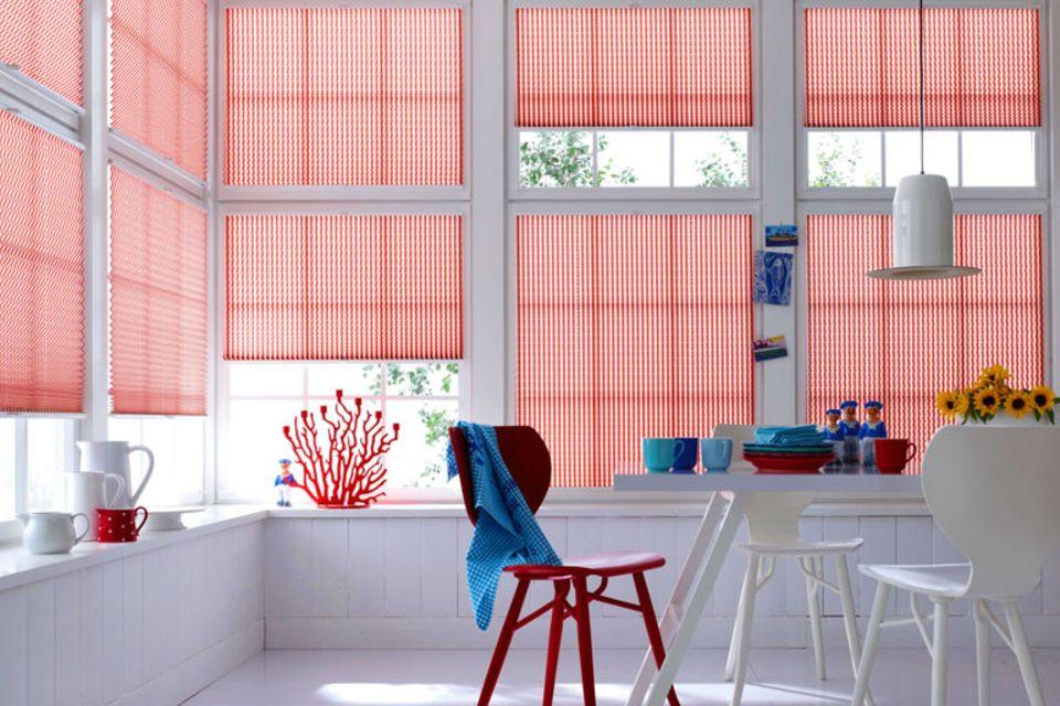 Plissees fürs Fenster – praktische Hängedeko