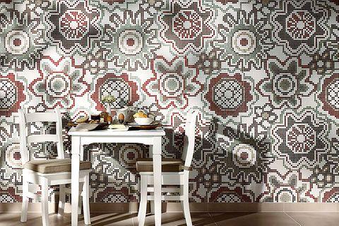 Mosaikfliesen für Bad, Küche und Wohnzimmer