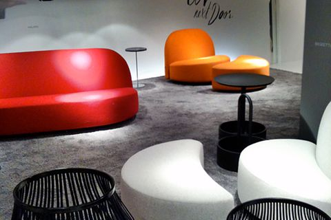 Fotostrecke: Möbel-Neuheiten der imm 2012