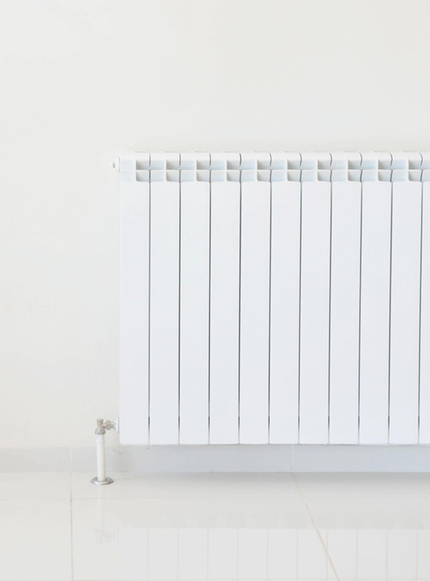 Heizkörper in der Wandfarbe streichen