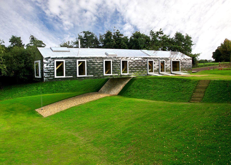 """Schwebende Blech-Box: """"Balancing Barn"""", Suffolk (England) - Bild 21"""