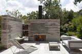 Kamin- oder Grillecke als Sichtschutz auf der Terrasse - Bild 7