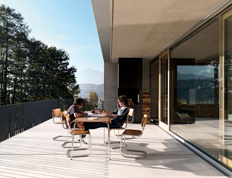 Teilüberdachte Terrasse in Österreich - Bild 15