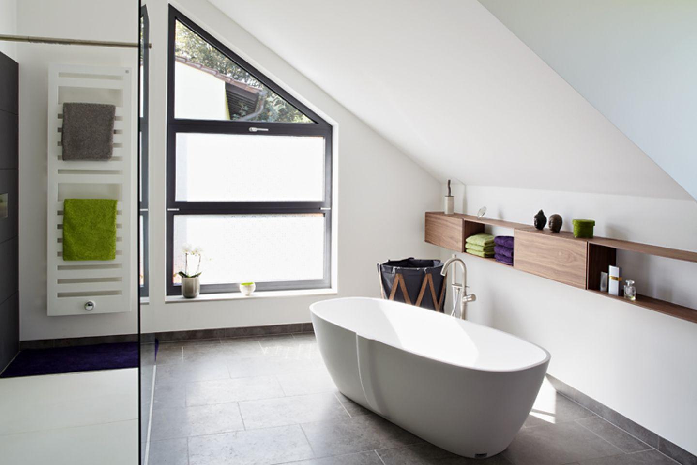 Was das Bad optisch vergrößert