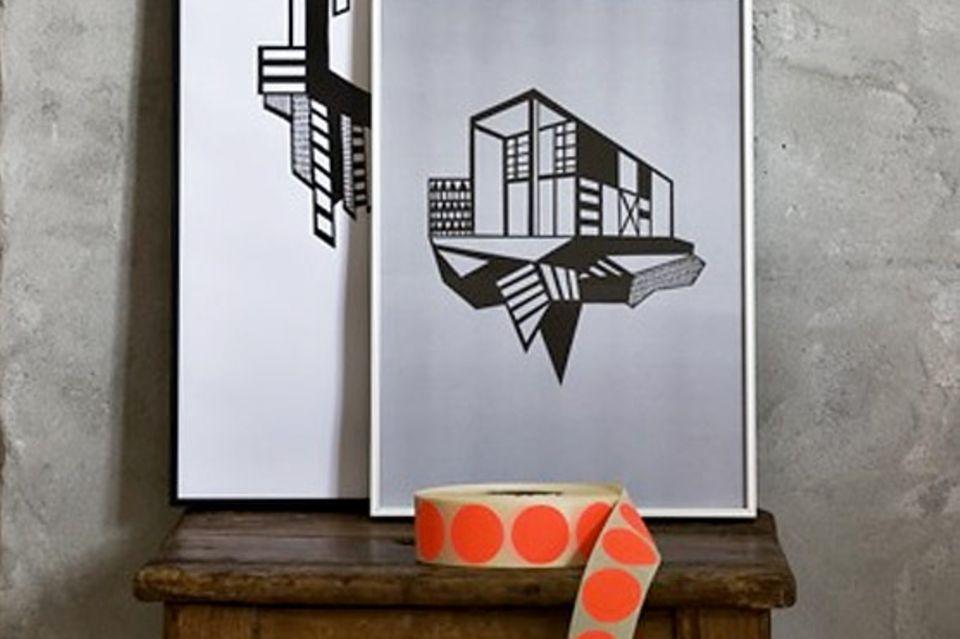Architektur-Poster von Kristina Dam