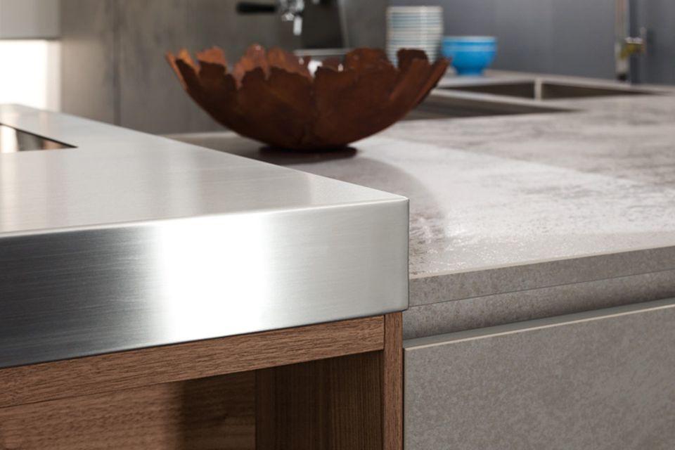Trend: Materialien: Glas & Keramik für die Küche
