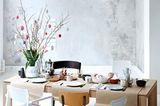 Tischdeko im Frühling - Rosa, Grün, Schwarz und Weiß - Bild 5