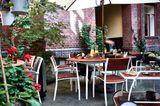 """Modern: """"Vindalsö"""" Gartentisch mit Stühlen"""