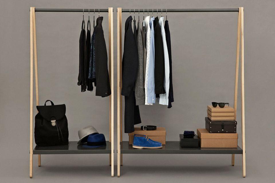 Kleiderstangen und wie man sie inszeniert