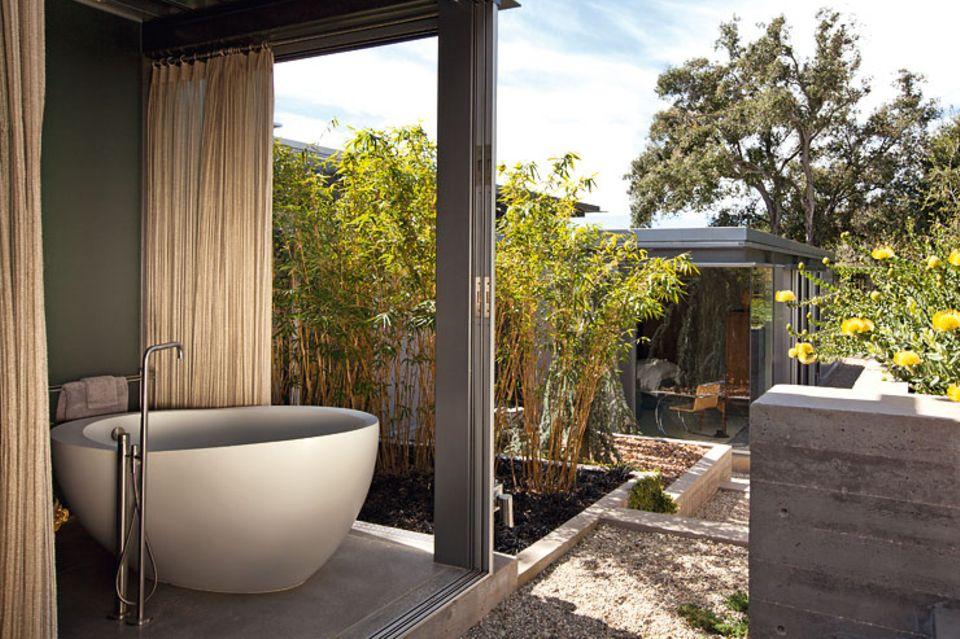 Von Architekten gestaltete Badezimmer