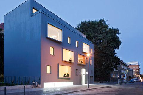 Architektenhäuser: Passivhaus in Berlin-Mitte