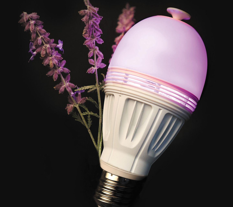 """LED-Licht mit Duft: """"Aromalight"""" von Avox"""