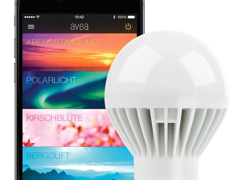 "Farbiges Licht: LED-Lampe ""Avea"" von Elgato"