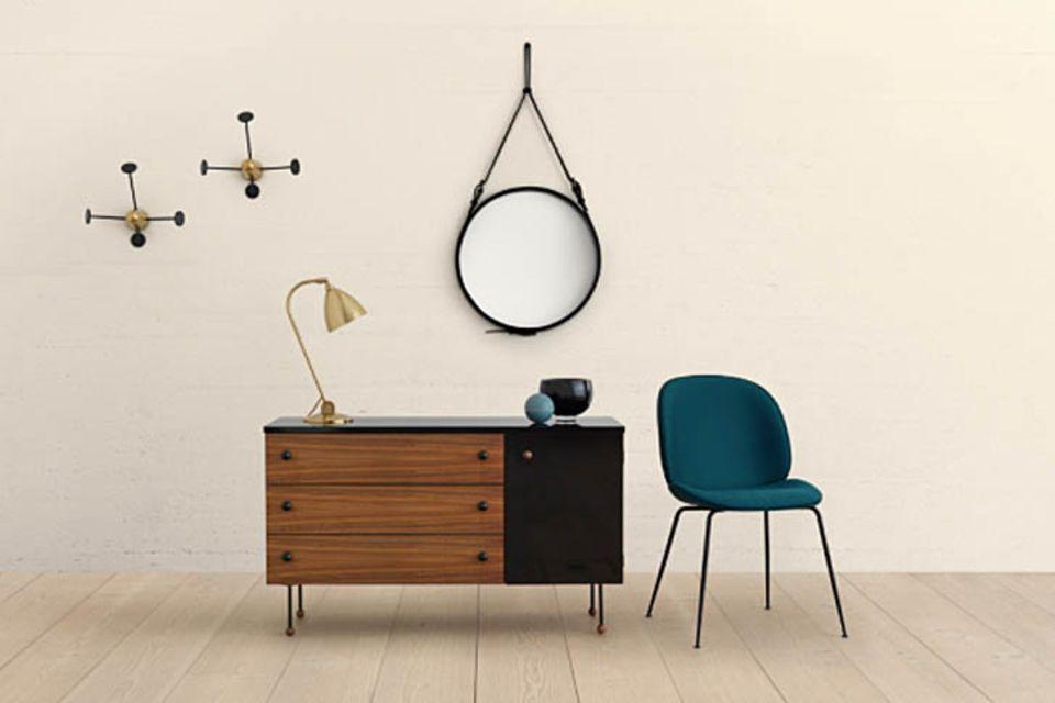 Ikonisches Design: Einrichten im Stil der 50er Jahre