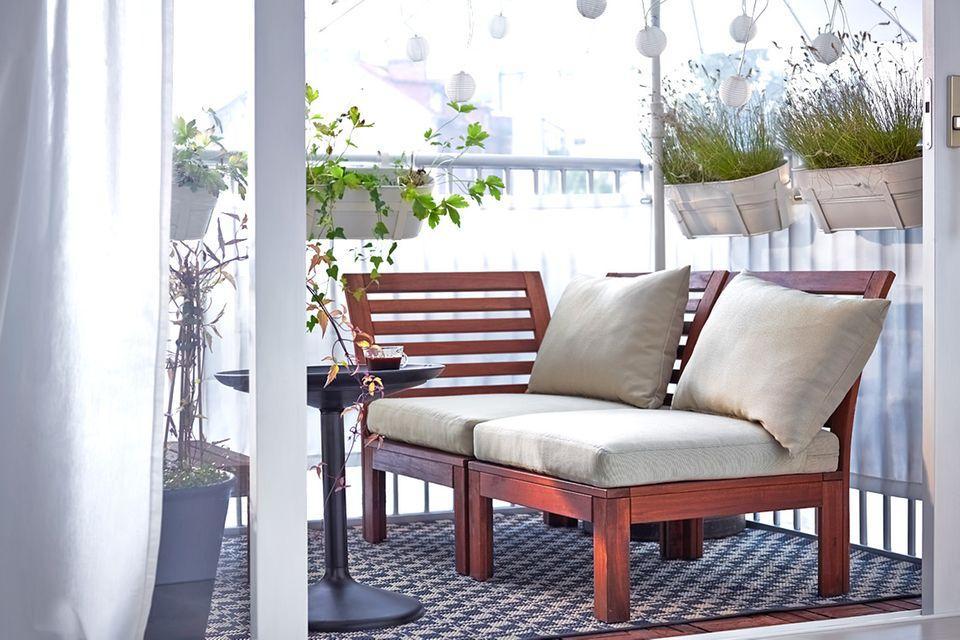 """Outdoor-Sofa """"Äpplarö"""" von Ikea"""