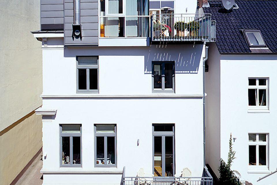 Neues Stockwerk aufs Haus gesetzt