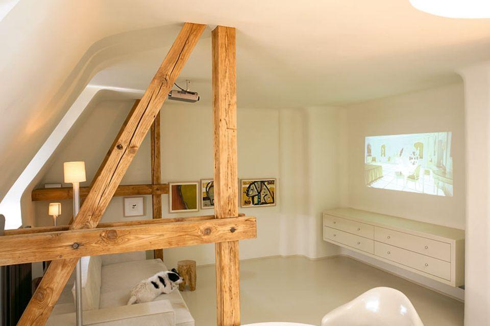 Dachgeschoss mit 56 Quadratmetern