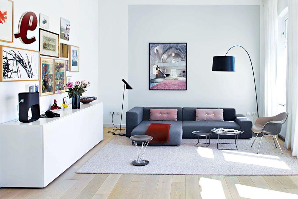 Nachher: Geräumigkeit und ein neuer Fußboden