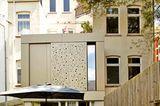 Anbau mit Aluminiumfassade