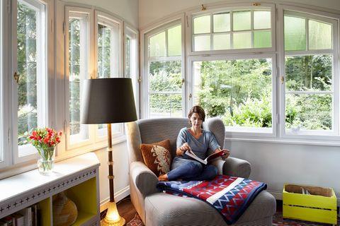 Nachher: Ein Wohnzimmer wie ein Wintergarten