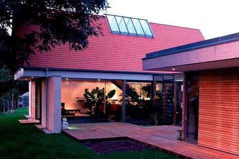 Haus mit viel Licht für Pflanzen