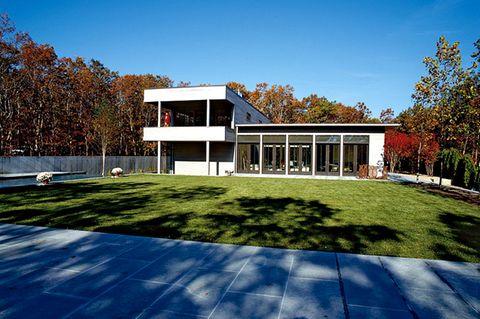 Moderne Flachdachvilla auf Long Island