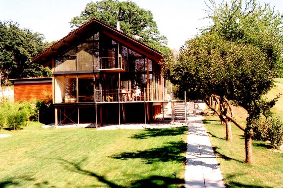 Landhaus auf Stelzen